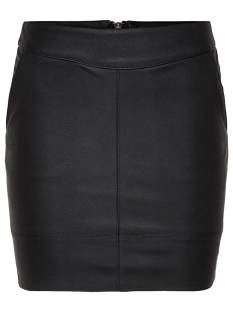 Only Rokje Only ONLBASE FAUX LEATHER SKIRT Rokken black 15164809