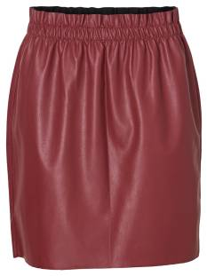 Vero Moda Rokje Vero Moda VMRILEY HR RUFFLE SHORT SKIRT Rokken madder brown 10204639