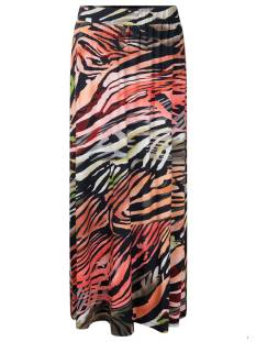 Tramontana Rokje Tramontana D10-95-201 SKIRT FLAMED ANIMAL Rokken 9998 print blacks