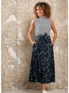 Studio Anneloes Suze camo skirt 04855 Rokken 6979 darkblue/meadow green