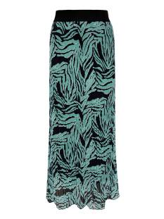 Elvira E1 21-016 SKIRT FIEN PLISSE Rokken 793 zebra light green