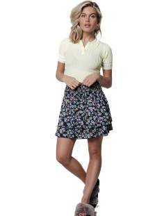 Colourful Rebel Rokje Colourful Rebel 10141 DAPHNE FLOWER 2LAYER SKIRT Rokken multicolour