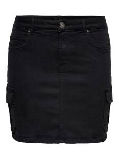 Only ONLMISSOURI LIFE RG CARGO SKIRT Rokken black washed 15205973