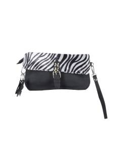 Sunset Fashion Accessoire Sunset Fashion P603 BAGS ZEBRA Damestassen black/beige