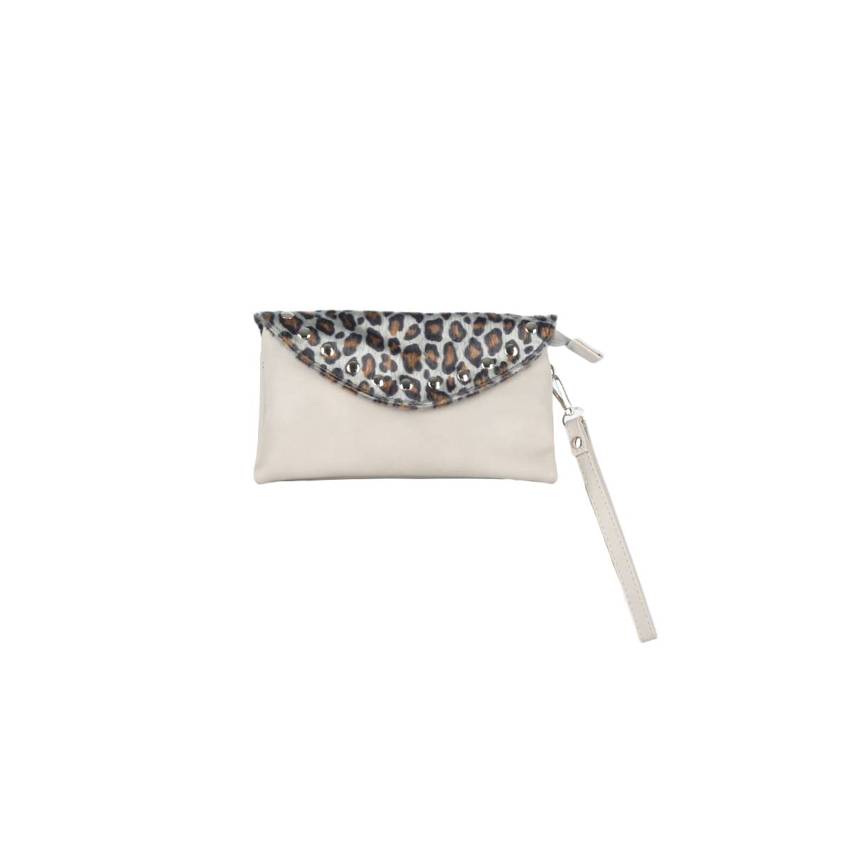 Sunset Fashion P035 BAG ANIMAL PRINT Grijs