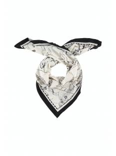 Studio Anneloes Triangle astro scarf 05238 Sjaals 1490 ivory/black