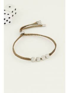 My Jewellery Accessoire My Jewellery MJ04498  Touw armband luck Armbanden 1500 zilver