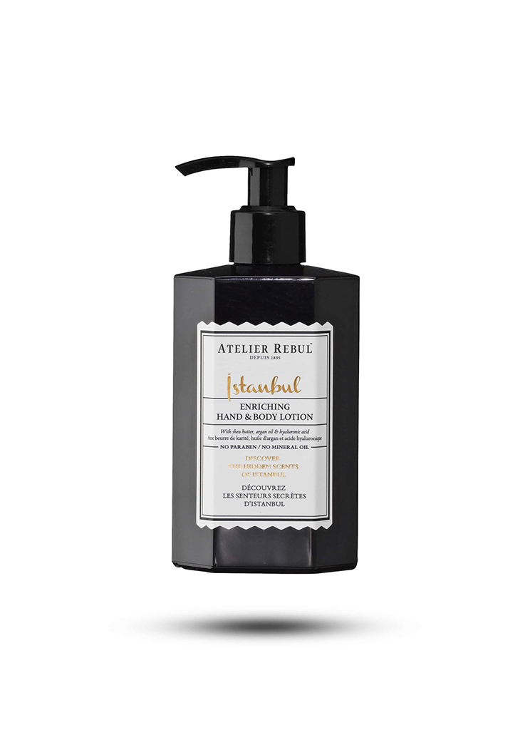 Atelier Rebul dames Beauty ISTANBUL HAND & BODYLOTION 250ML MTL Zwart