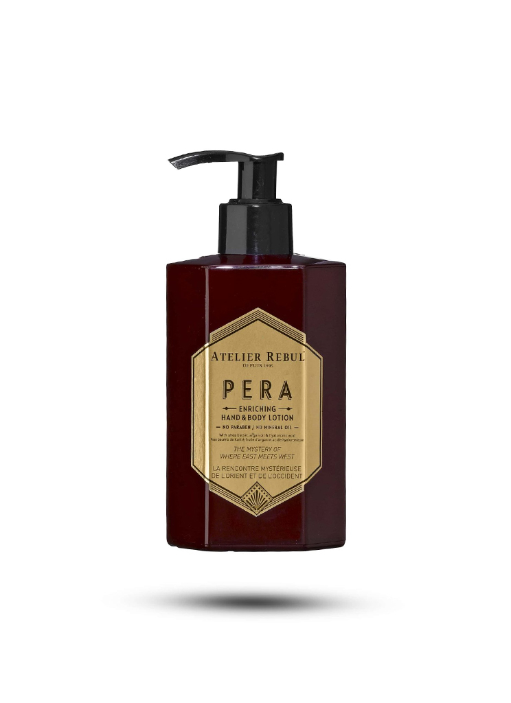 Atelier Rebul dames Beauty PERA HAND & BODYLOTION 250ML MTL Rood