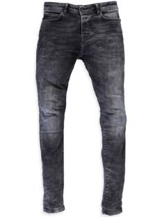 Cars Jeans Cars 75528 DUST DEN. SUPER SKINNY Slim Fit 01 black spot