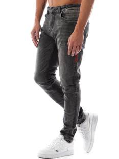 Black Bananas Jeans Black Bananas DON CLEAN JEANS Slim Fit grey