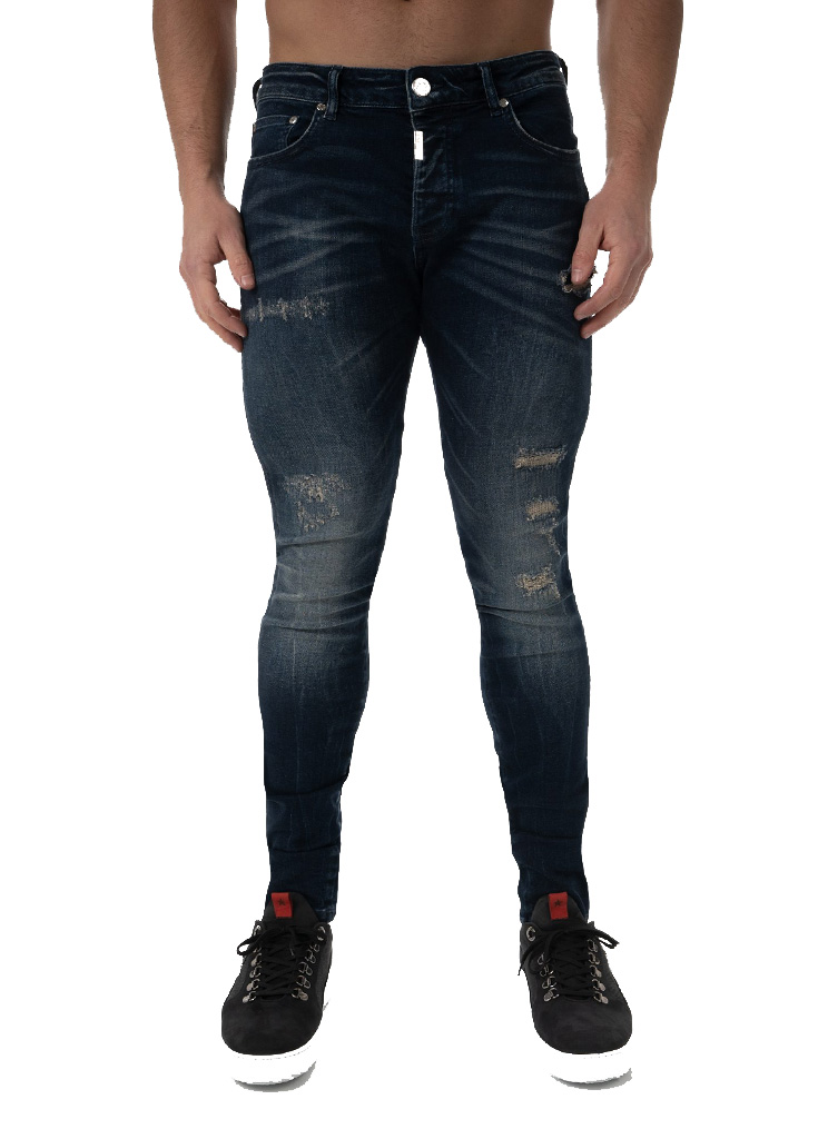 AB Lifestyle heren Jeans EXCLUSIVE JEANS 29 Blauw
