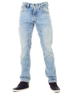 Jack & Jones JJISTAN JJISAAC Tapered Fit jj964 blue denim