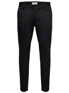 Only & Sons Broek Only & Sons ONSMARK PANT STRIPE GW 3727 Broek black 22013727