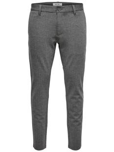 Only & Sons Broek Only & Sons ONSMARK PANT STRIPE GW 3727 Broek medium grey 22013727
