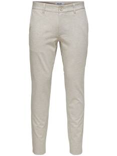 Only & Sons Broek Only & Sons ONSMARK TAP PANT MEL GD5833 Broek 22015833 chinchilla