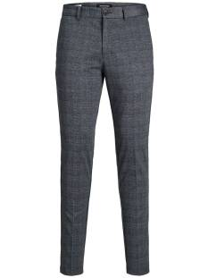 Jack & Jones Broek Jack & Jones JJIMARCO JJPHIL JERSEY NOR CHECK Broek dark grey 12174986