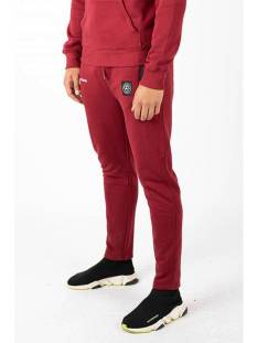 Quotrell Broek Quotrell COMMODORE PANTS PA00001 Trainingsbroek 500 bordeaux