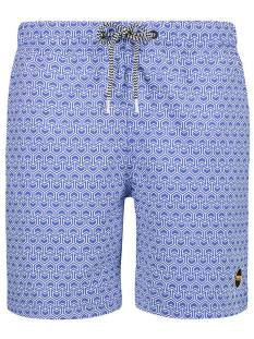 Shiwi Broek Shiwi 4192111123 SWIM SHORT GEO ARROW Korte Broeken  637 bali blue