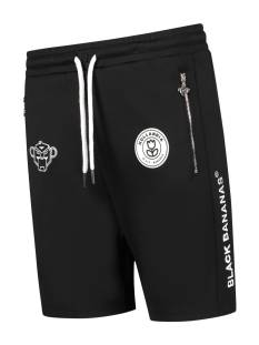 Black Bananas Broek Black Bananas F.C. BASIC SHORT Korte Broeken  1 black