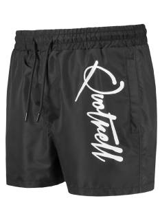 Quotrell Broek Quotrell QUOTRELL MAJOR SWIMSHORT Korte Broeken  black/white