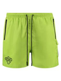 Black Bananas PALM POCKET SWIMSHORT Korte Broeken  neon yellow