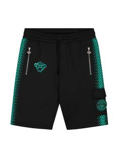 Black Bananas HEXAGON SHORT Korte Broeken  black/blue