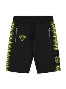 Black Bananas HEXAGON SHORT Korte Broeken  black/yellow