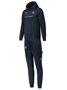 Black Bananas Broek Black Bananas ADULT ANORAK TRACKSUIT Trainingspak navy