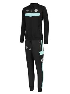Black Bananas Broek Black Bananas ANORAK COLLAR TRACKSUIT Trainingspak 1 black/aqua