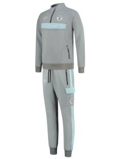 Black Bananas Broek Black Bananas ANORAK COLLAR TRACKSUIT Trainingspak 5 grey