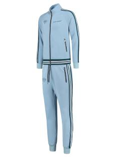 Black Bananas Broek Black Bananas RIBBED TAPE TRACKSUIT Trainingspak 22 light blue
