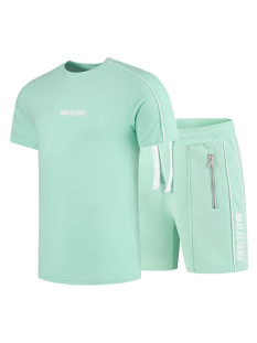 Malelions Broek Malelions TWINSET THIES Trainingspak 401 green mint