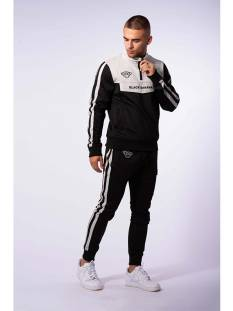 Black Bananas Broek Black Bananas SPRINT TRACKSUIT Trainingspak black/grey