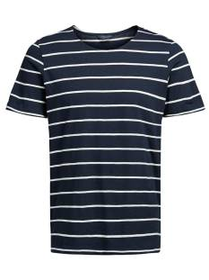 Jack & Jones Premium Shirt Jack & Jones Premium JPRHAYLEY TEE SS CREW NECK Print T-Shirt dark navy 12121614