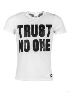 Pure White 17030179 TRUST NO ONE Wit