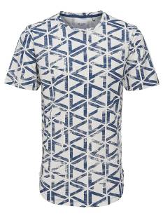 Only & Sons Shirt Only & Sons ONSBENN SS LONGY TEE Print T-Shirt ensign blue 22008565