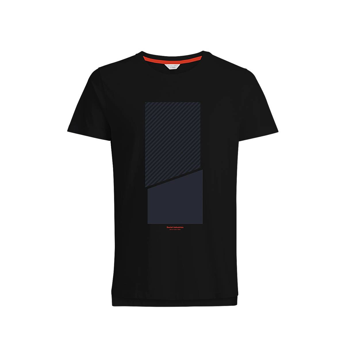 Jack & Jones NOLAN TEE Zwart
