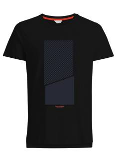 Jack & Jones Shirt Jack & Jones NOLAN TEE Print T-Shirt black