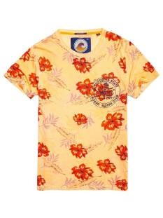 Superdry Shirt Superdry M10001HQ BOARD RIDERS Print T-Shirt scorched coral op7