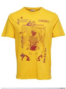 Only & Sons Shirt Only & Sons ONSFABIO SS TEE Print T-Shirt spectra yellow