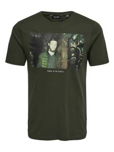 Only & Sons Shirt Only & Sons ONSFALKNER SS TEE Print T-Shirt forest night 22010927