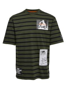 Only & Sons ONSFAUSTO SS TEE Print T-Shirt forest night 22010931