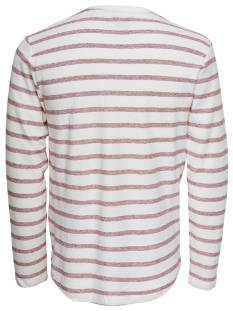 Only & Sons ONSMARVIN STRIPED CREW NECK Wit