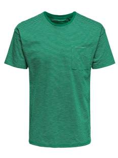 Only & Sons ONSPHIL DROP SHOULDER TEE EQ Print T-Shirt bosphorus 22012557