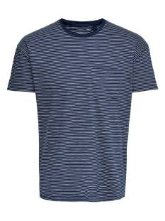Only & Sons ONSPHIL DROP SHOULDER TEE EQ Print T-Shirt dress blues 22012557