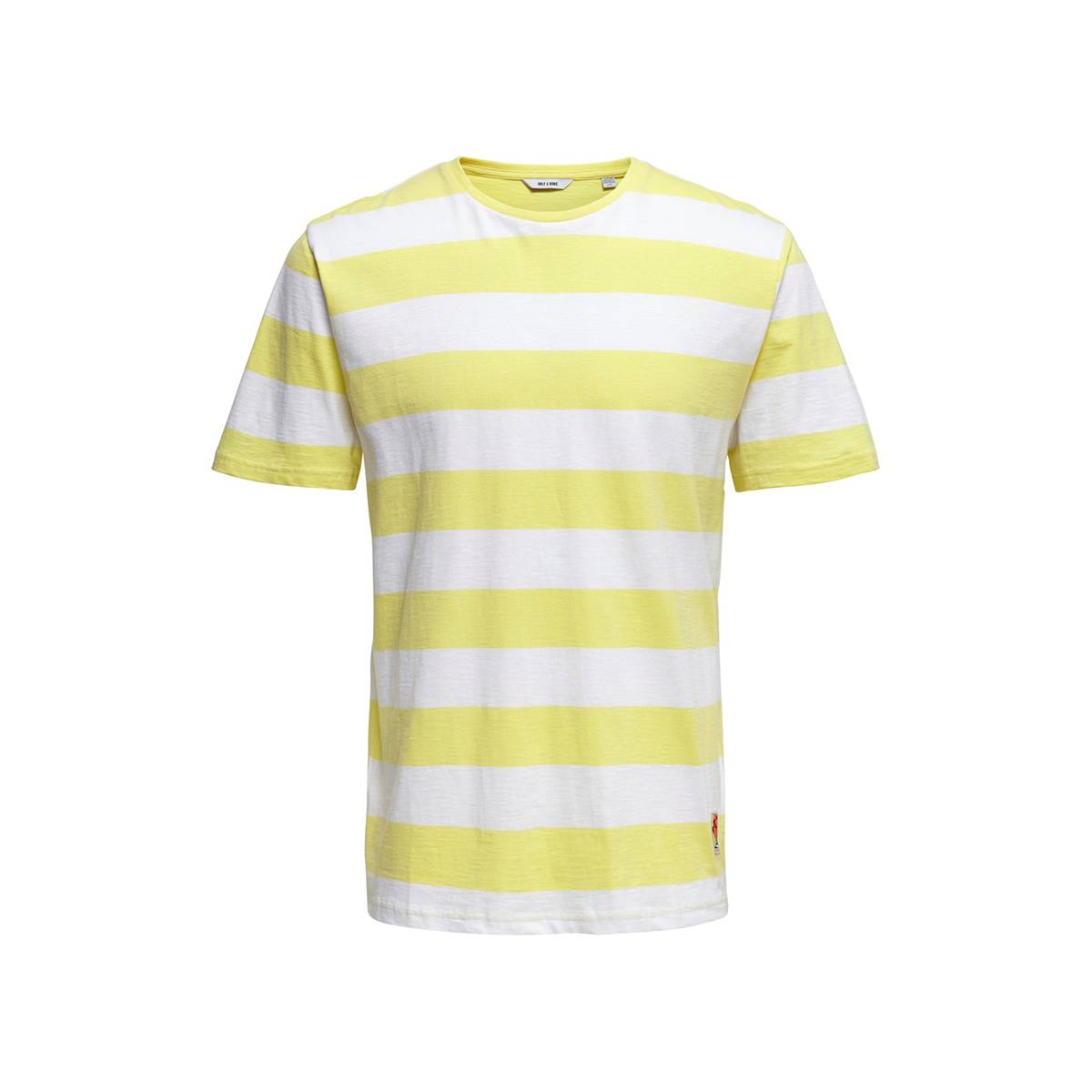 Only & Sons ONSPATTERSON SS REG TEE Geel