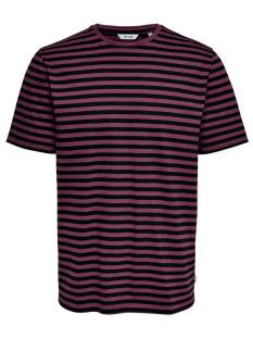 Only & Sons Shirt Only & Sons ONSJAMIE SS STRIPE REG TEE Print T-Shirt zinfandel stripes 22013203
