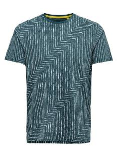 Only & Sons Shirt Only & Sons ONSNEXT AOP SLIM TEE Print T-Shirt reflecting pond 22013712