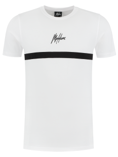 Malelions TONNY 2.0 MALELIONS TEE Print T-Shirt white/black